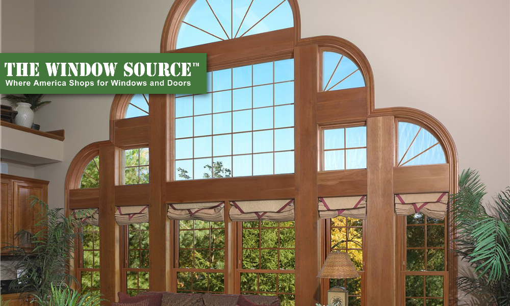 Architectural Shaped Windows in Winston-Salem, Greensboro, Kernersville, & More