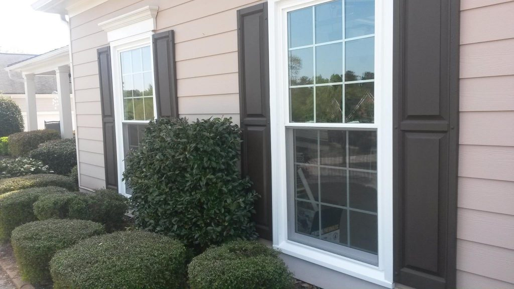 Completed Window Installation